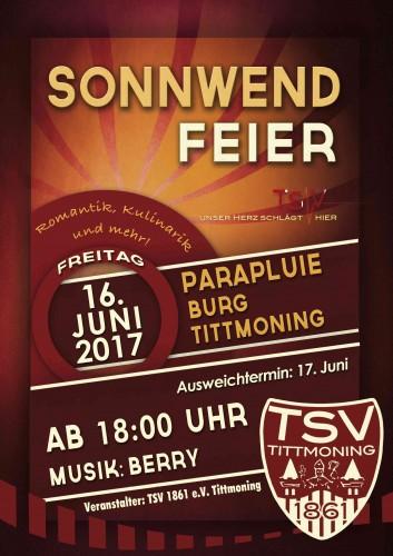 Sonnwendfeier am Parapluie @ Tittmoning, Parapluie (Burgparkplatz) | Tittmoning | Bayern | Deutschland