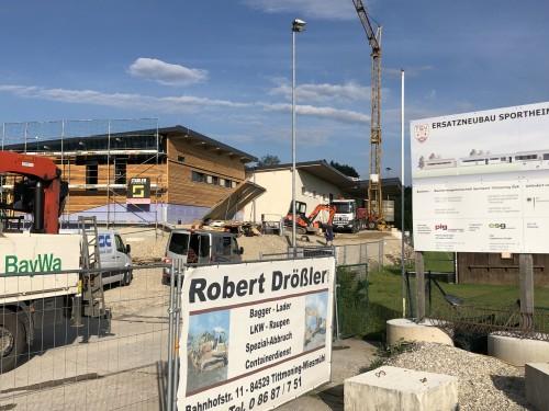 Sportpark: Tag der offenen Baustelle am 14. Juli! @ Tittmoning, Baustelle des neuen Sportheims | Tittmoning | Deutschland